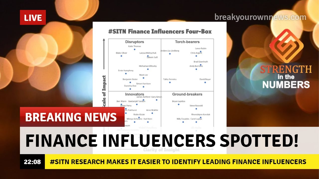 #187: Monday Memo: Introducing the #SITN Finance Influencer 4-Box